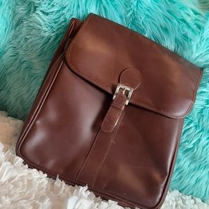 crossbody back bag with laptop/iPad compartment